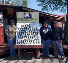 Reelfoot Lake Fishing Report on Eagle Nest Fishing Packages Reelfoot Lake Tennessee