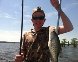 How do you access the fishing report for reelfoot lake for Reelfoot lake crappie fishing