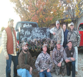 Reelfoot lake duck hunting guide for Reelfoot fishing report