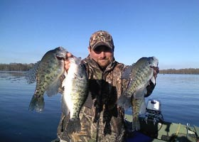 Reelfoot Lake Fishing Report on Reelfoot Lake Crappie Fishing With Kyle Homra