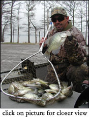 Reelfoot Lake Fishing Report on Us Advertising Reelfoot Lake Crappie Fishing With Jackie Van Cleave