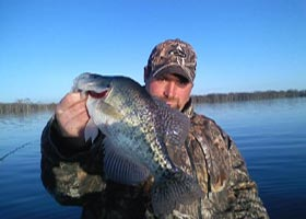 Reelfoot Lake Crappie Fishing with Kyle Homra